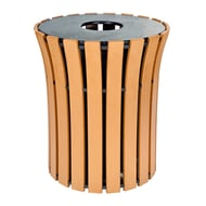 Polly Products Round Flare 33 Gallon Receptacle