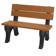 Polly Products 4' Traditional Recycled Plastic Bench