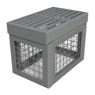 """Anova Canyon Edge Steel Gabion-Style 15"""" Accent Section"""