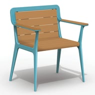Anova Elevation Recycled Plastic Lounge Chair