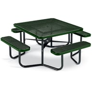 Square Expanded Steel Table, Portable Frame