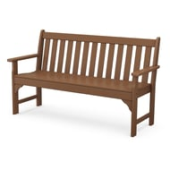 Polywood Vineyard 5' Recycled Plastic Park Bench