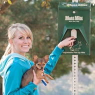 Mutt Mitt Green Pet Waste Bag Dispenser