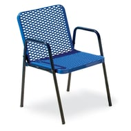 Streetside Square Expanded Steel Café Chair