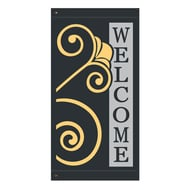 "60"" Welcome Finial Banner"