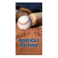 "60"" America's Pastime Banner"