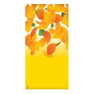 "60"" Yellow Leaves Banner"