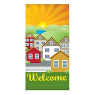 "60"" Houses Welcome Banner"