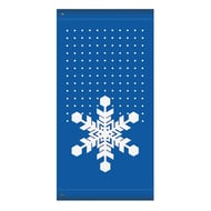 "60"" Snowflake no Word Banner"