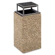 Anova Structure 30 Gallon Trash Receptacle, Bonnet Ash Top