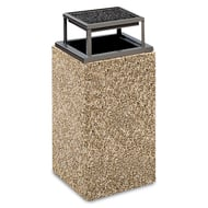 Structure 30 Gallon Trash Receptacle, Bonnet Ash Top