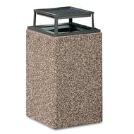 Structure 48 Gallon Trash Receptacle, Bonnet Ash Top