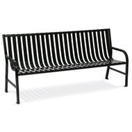 WITT Oakley 6' Metal Slatted Contour Bench