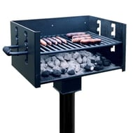 Standard Park Grill, Inground Mount