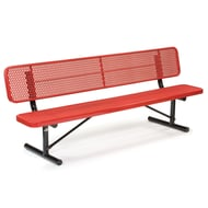 Victory 6' Exp Steel Deep Seat Bench, Trad Edge, Portable