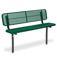 Victory 6' Exp Steel Deep Seat Bench, Trad Edge, Ingr Mnt