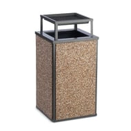 Essence 30 Gal HD Fire-Resist Receptacle, Bonnet Ash Top