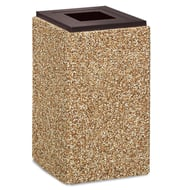 Anova Structure 30 Gallon Trash Receptacle, Flat Open Top