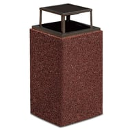 Anova Structure 30 Gallon Trash Receptacle, Bonnet Top