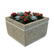 "Petersen Concrete 33"" Rectangular Standard Planter"