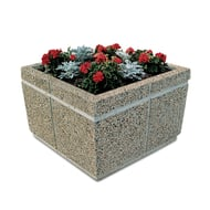 "Petersen Concrete 42"" Square Standard Planter"