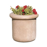 "Petersen Fabres 24""H x 24""Dia. Concrete Planter"