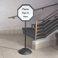 Safco Write Way Octagonal Directional Sign
