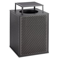 Anova Element 48 Gallon Trash Receptacle, Bonnet Top