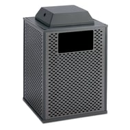 Element 32 Gallon Trash Receptacle, Ash Cover Top