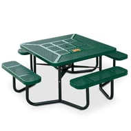 Anova Rally Square Commemorative Picnic Table