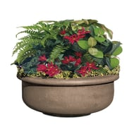 "Petersen Fabres 24""H x 42""Dia. Concrete Planter"