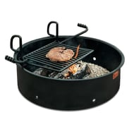"Pilot Rock FA-30 Series Campfire Ring Grill with 9"" Wall"