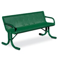 Courtyard 6' Bench, Portable Frame