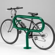 Keyrac Bike Stand with Powder Coat Finish and Surface Mount
