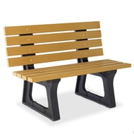 Anova Recycled Plastic 4' Traditional Bench