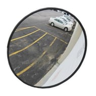 "See All Industries 18"" Round Convex Outdoor Acrylic Security Mirror"