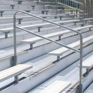 "48"" Aisle with Handrail For 21' or 27' Bleachers"