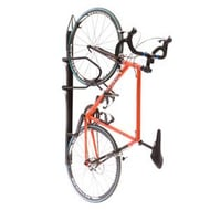 Saris Bike Trac Vertical Wall-Mount Locking Bike Rack with Single Bike Capacity