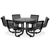 Anova Rendezvous Table, 6 Swivel Seats