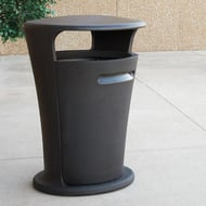 Upside 50 Gallon Trash Receptacle