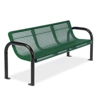 Anova Ultra 6' Expanded Steel Bench, Portable/Surface Mount