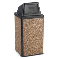Anova Essence 30 Gallon Trash Receptacle, Push Door Top