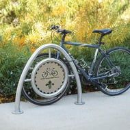 Beacon Hill Stainless Steel Custom Bike Rack