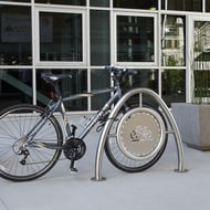Anova Beacon Hill Stainless Steel Bike Rack