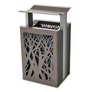 Airi Stix 45-Gal. Trash Receptacle with Side Door