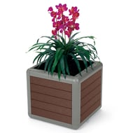 Beacon Hill 25 Gallon Recycled Plastic Planter