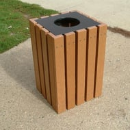 Polly Products Economizer 22 Gallon Receptacle with Open Top