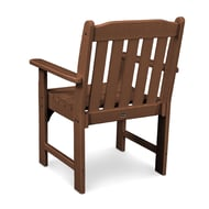 Polywood Vineyard Recycled Plastic Armchair