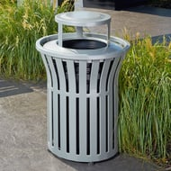 Anova Rendezvous 40 Gallon Trash Receptacle, Bonnet Top