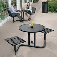 Latitude Bistro Table, 2 Flat Seats